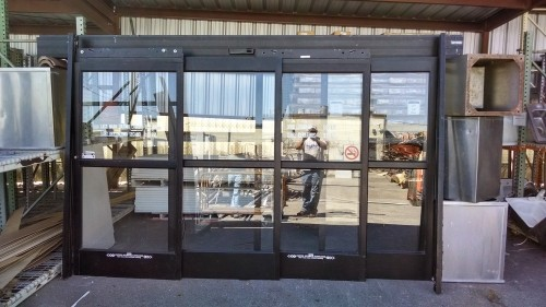 Reduced14 Ft Stanley Automatic Storefront Door Diggerslist