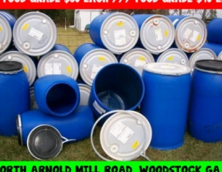 & Search for food grade plastic rain storage barrels | DiggersList