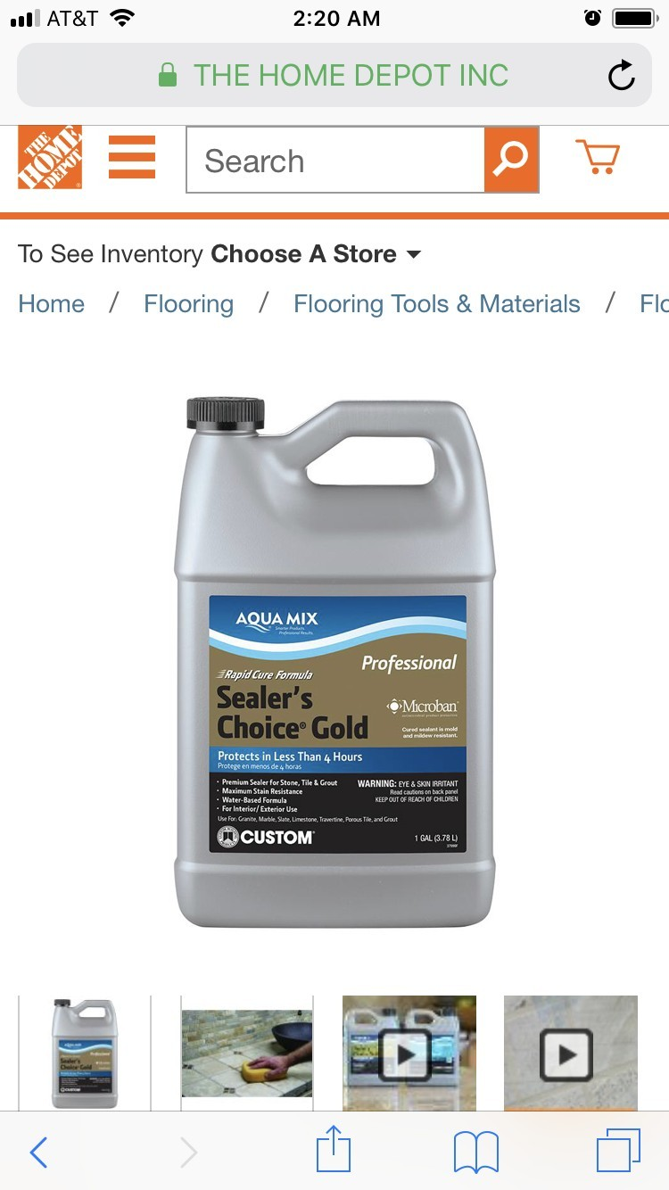 Aqua Mix Sealers Choice Gold 2 1 gallon bottles | DiggersList