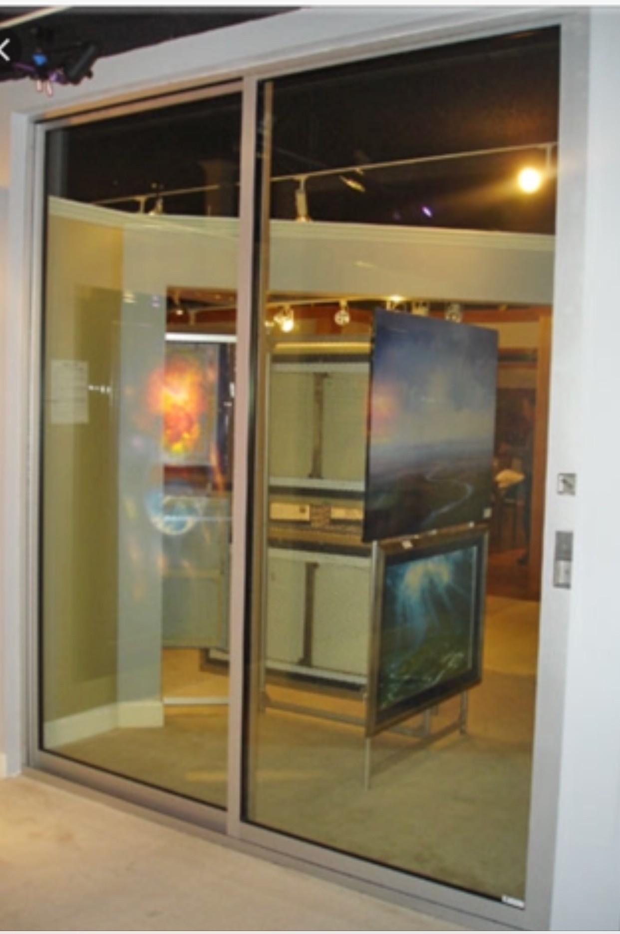 High end fleetwoid sliding glass doors brand new double