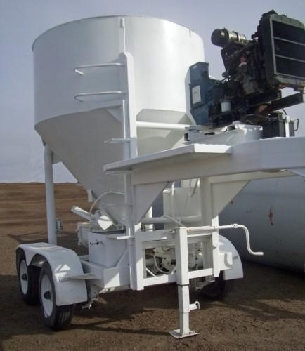 Concrete Batch Plantu Cart Trailer Diesel Generator