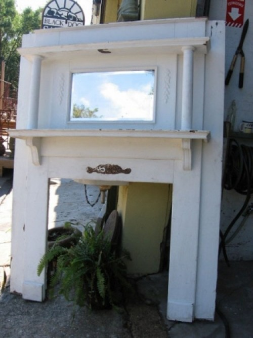 how antique cover old surround fireplace diy susan a marble mantel skills ci using and painting tos teare make to an door know frame