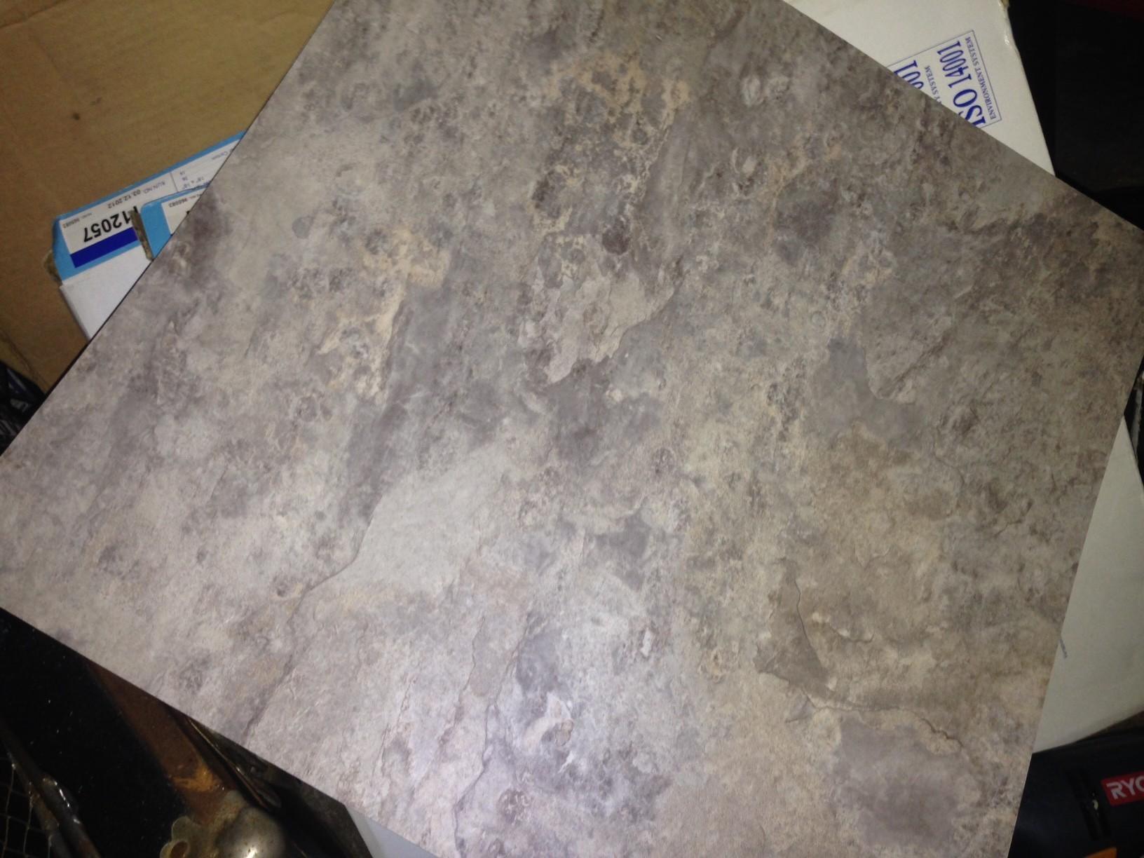 metroflor american versatal shale slate 18 x 18 vinyl tile in