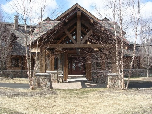 Heavy Timber Wood Truss Manufacturers And Designs