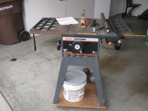 Craftsman 10 2hp Direct Drive Table Saw Diggerslist