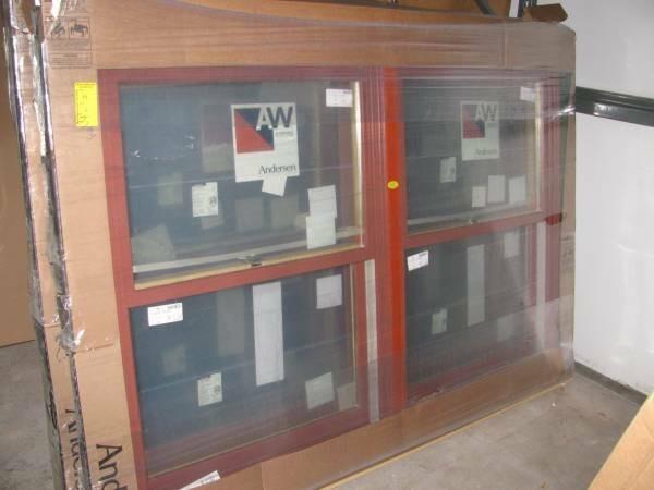 14new andersen red rock window package diggerslist for Andersen windows u factor