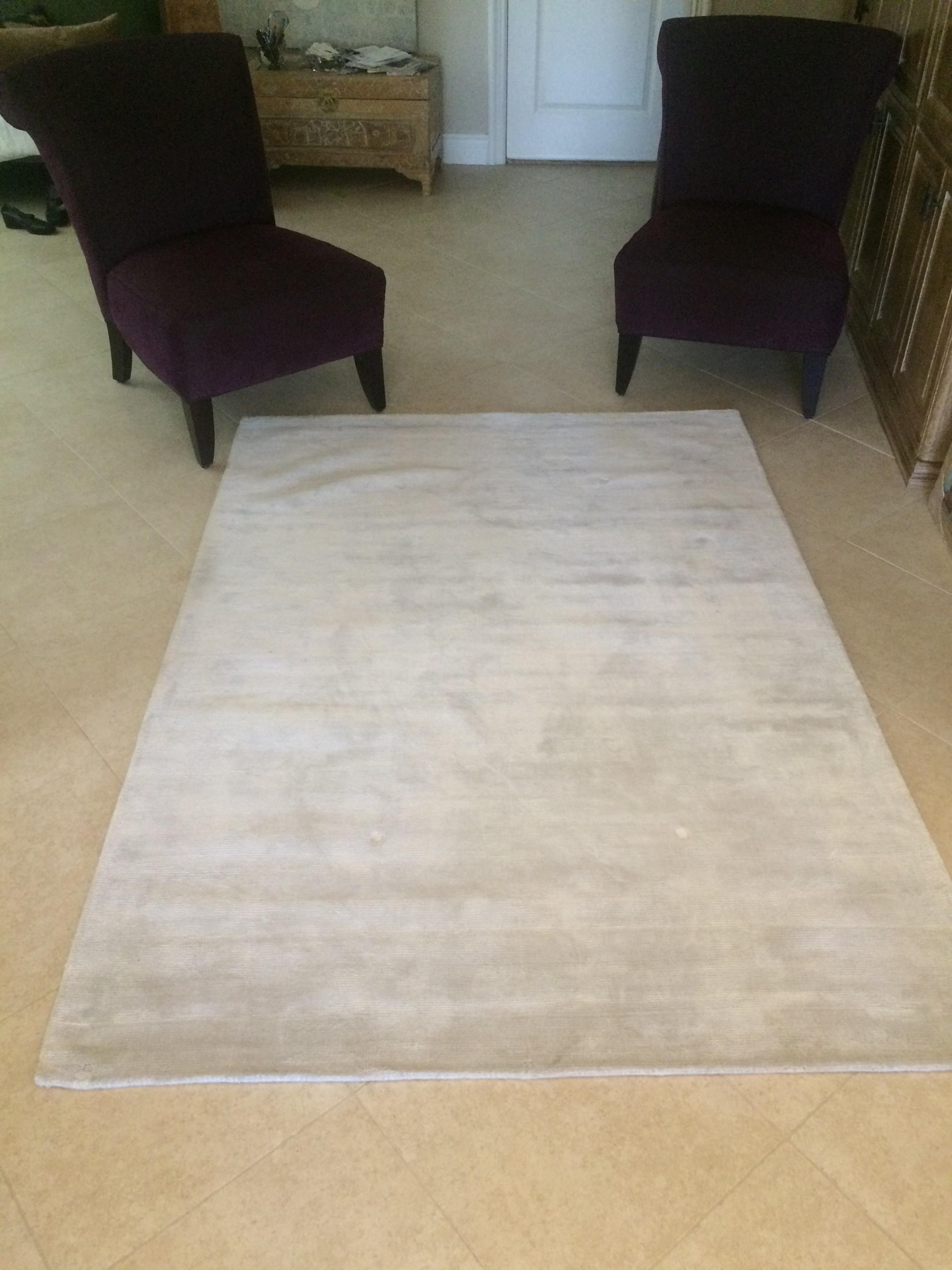 5x7 white lush area rug diggerslist. Black Bedroom Furniture Sets. Home Design Ideas