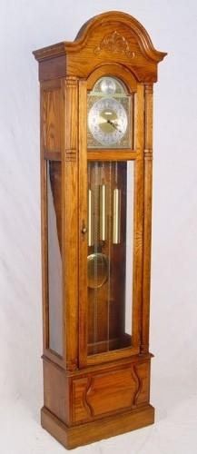 Howard Miller Oak Grandfather Clock Model 610-160 ...