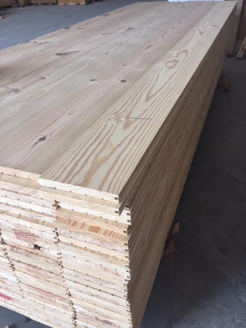 7 Quot Wide Solid Southern Yellow Pine Flooring 10 Tongue And