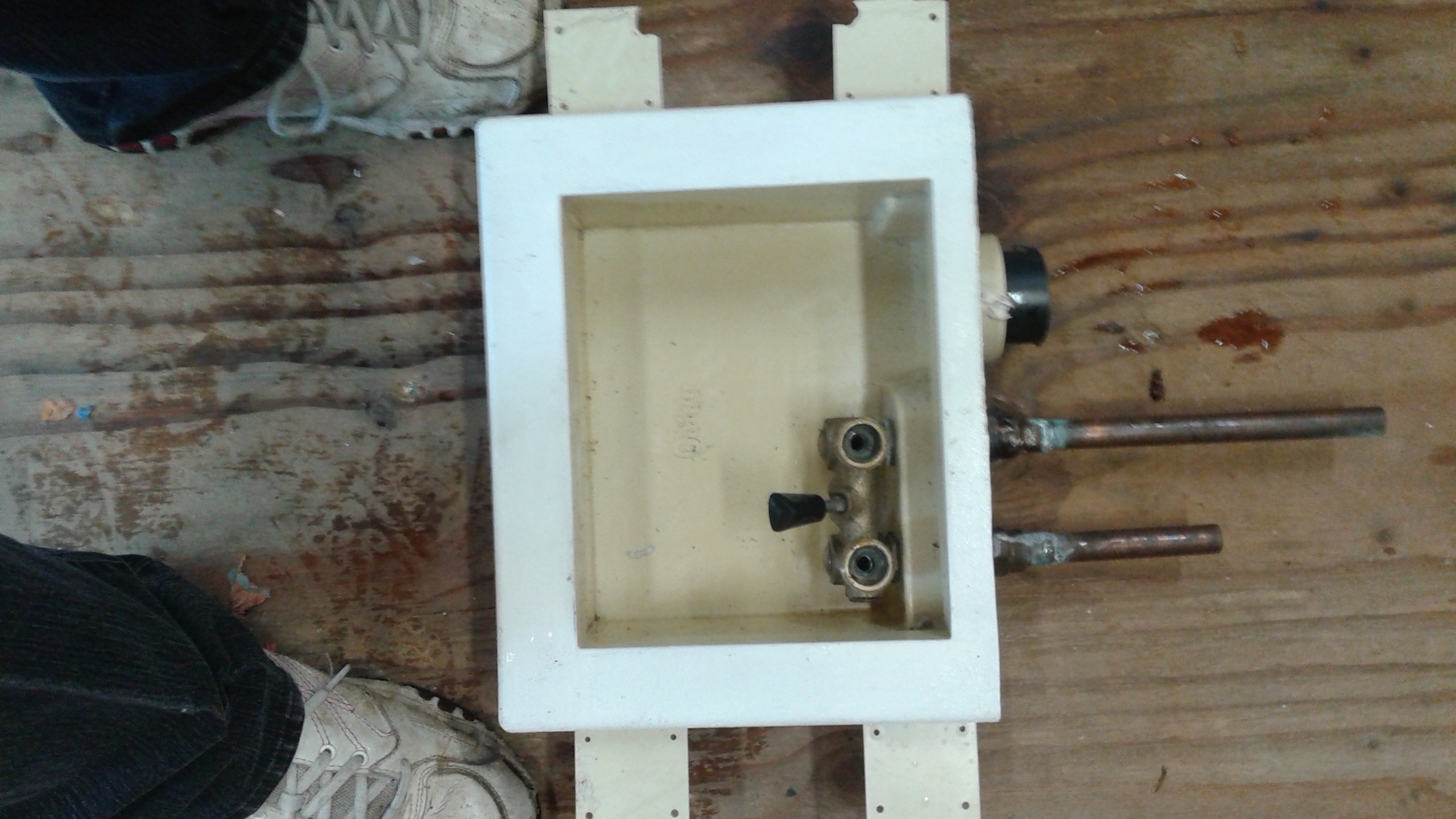washing machine wall outlet