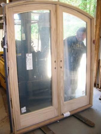 2 New White Andersen Arched Top Patio Door Set Diggerslist
