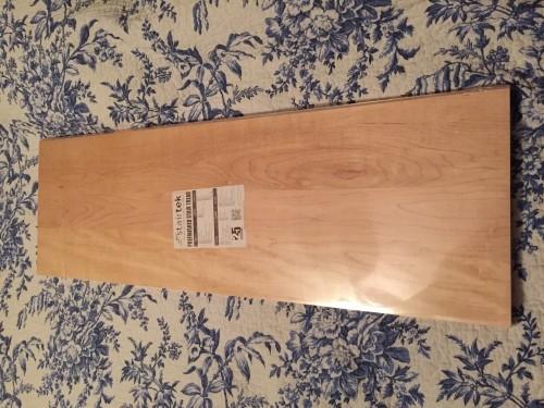 13 Stairtek Prefinished Maple Stair Treads 1x11.5x36   $400