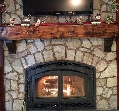 Rustic Fireplace Mantels Recycled Reclaimed Wood Mantels Distressed Old Upcycled