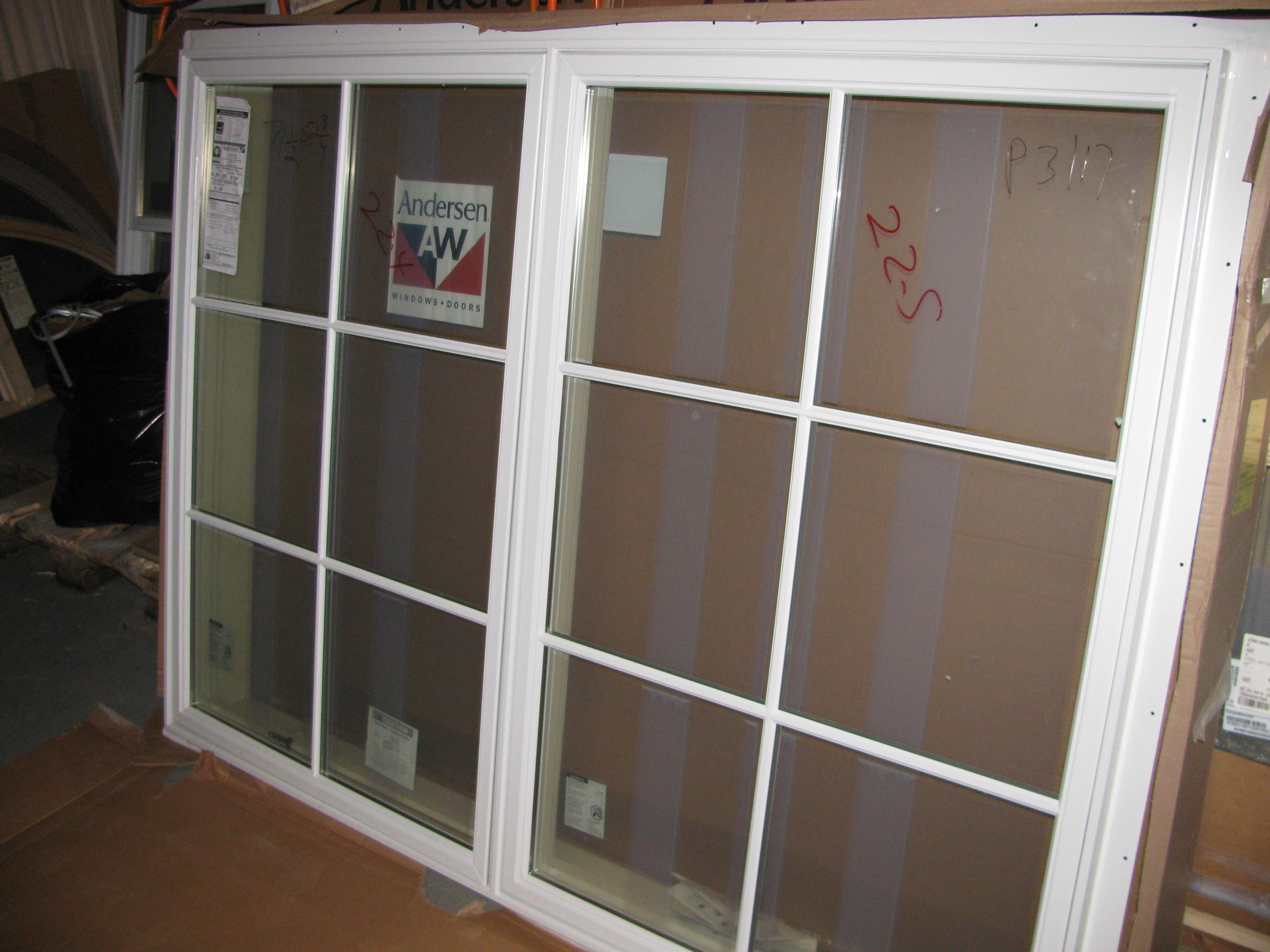 14 new white andersen sdl casement window package for Andersen windows u factor