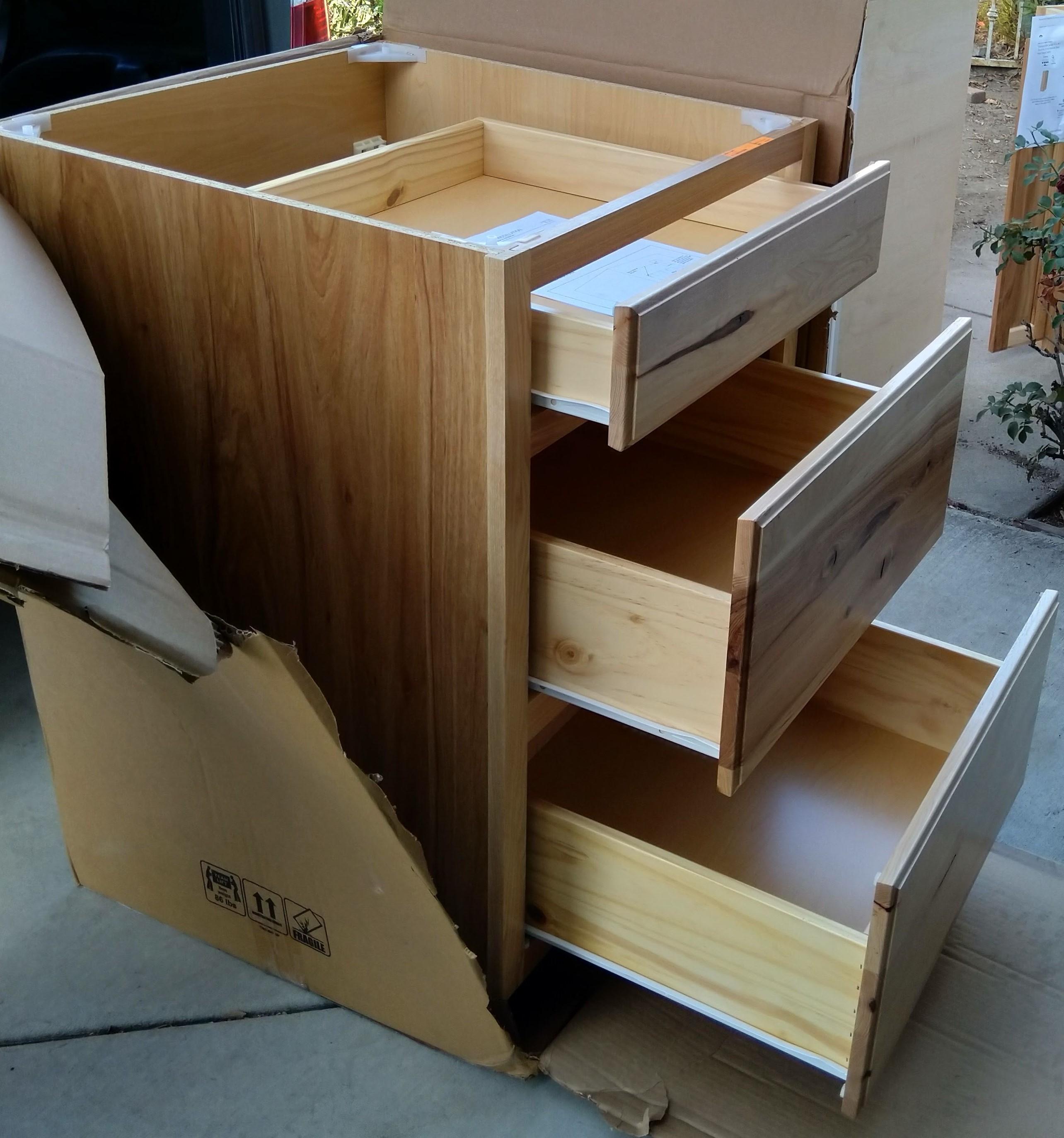 NIB Kitchen Base Stock Cabinet, model 22 B24R | DiggersList