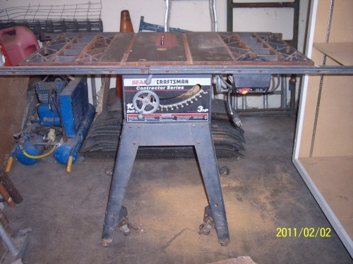 Craftsman Contractor 10 Table Saw 3 Hp Diggerslist