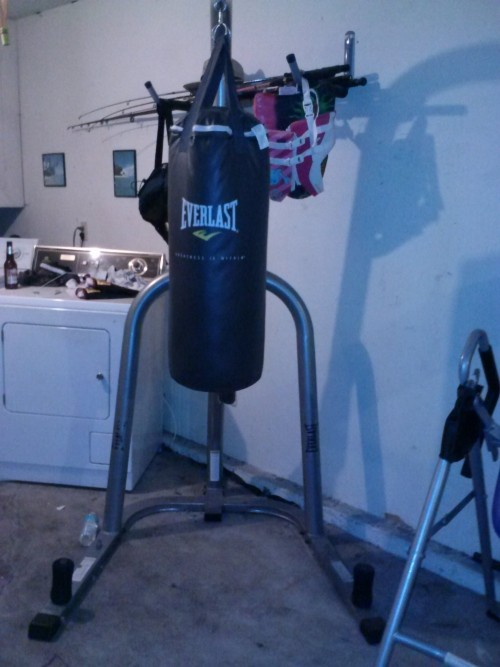 Everlast Single Station Heavy Bag Stand And 75