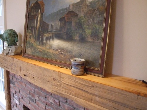 Rustic Fireplace Mantels Recycled Reclaimed Wood Mantels