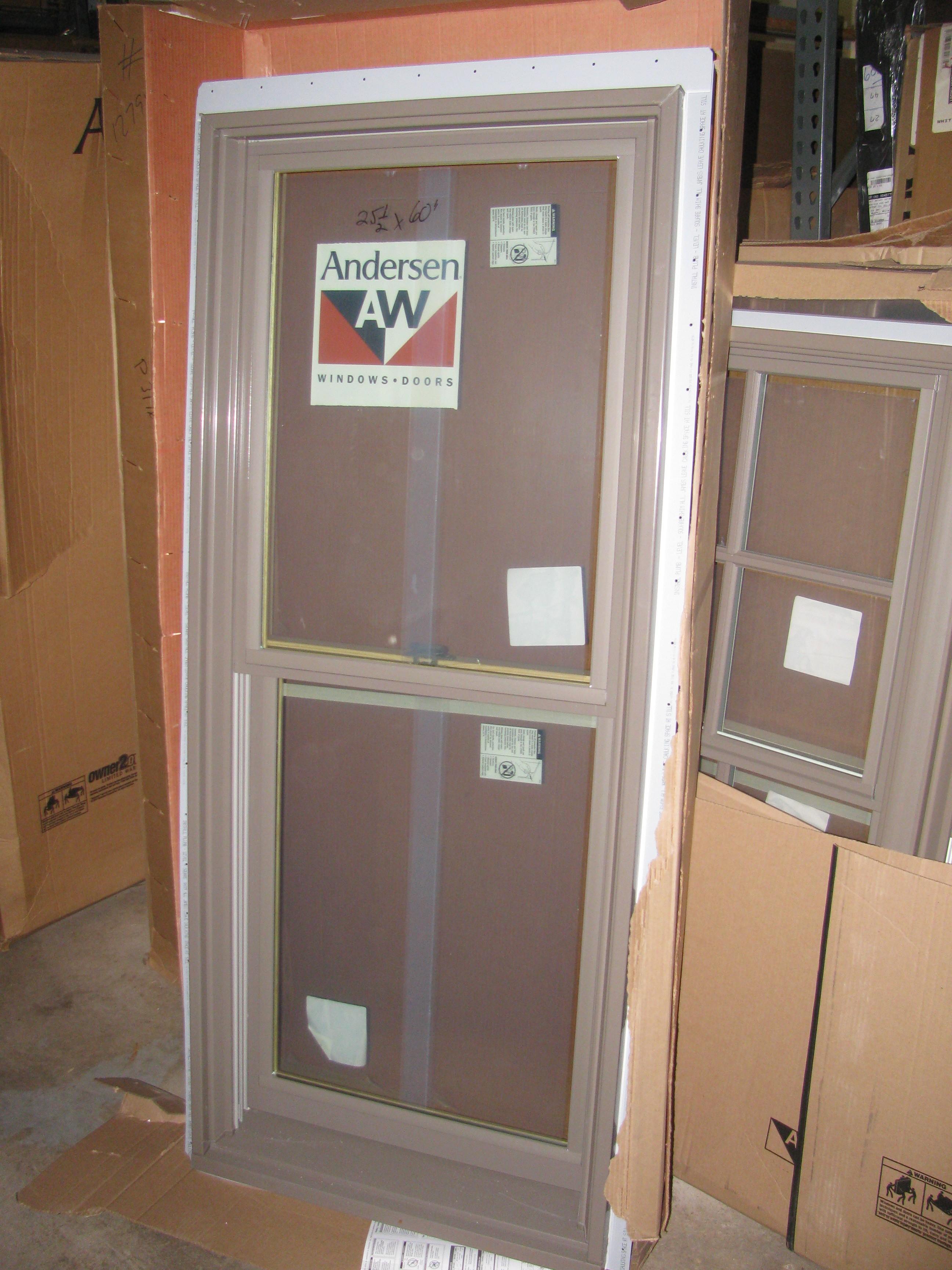 2 new andersen terratone double hung windows diggerslist for Andersen windows u factor