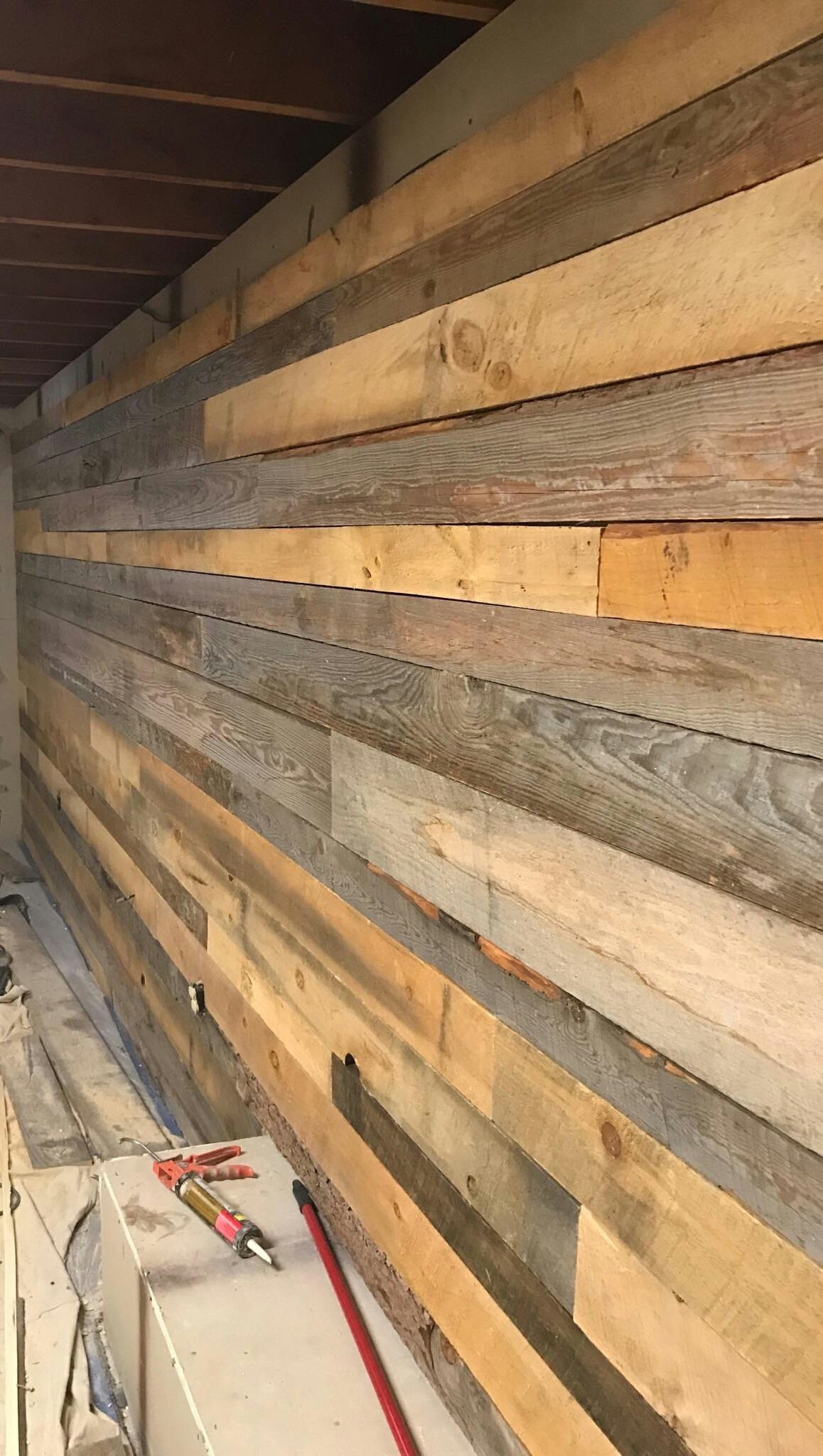 New rustic siding looks reclaimed barn wood siding very for Buy reclaimed wood los angeles