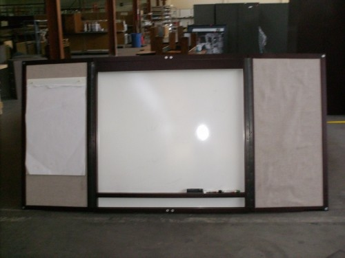 Just Reduced Herman Miller Dry Erase And Cork Board Cabinet   $300 Obo