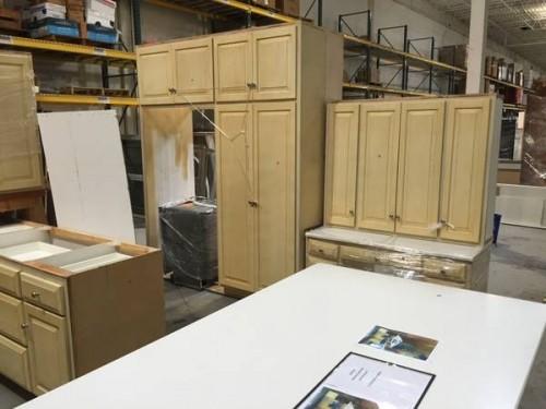 Mahogany kitchen cabinet set diggerslist for Kitchen design 70115