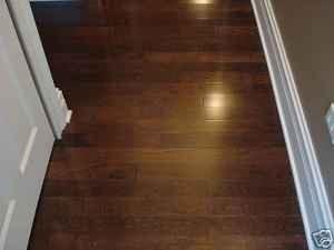 34 X 3 14 White Oak Solid Hardwood Flooring Dark Mocha Prefinished