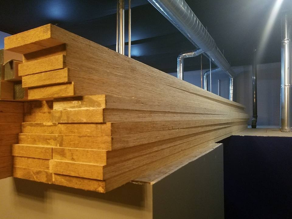 Laminated Veneer Lumber Lvl Is A High Strength Ered Wood Primarily For Structural Lications It Parable In To Solid