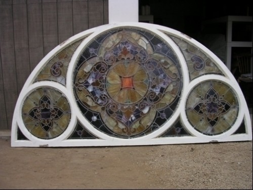 Antique Stained Glass Window Z065 Diggerslist