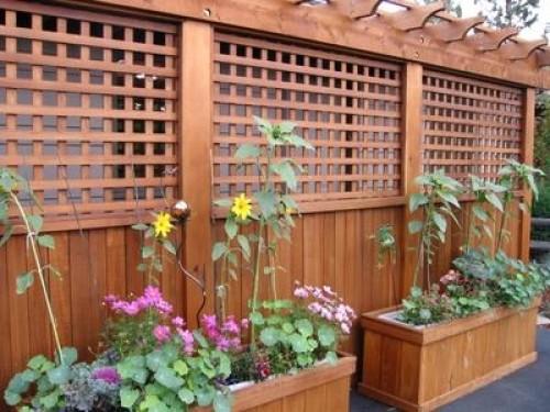 Lattice Fencing Privacy Fencing Cedar Wood Or Vinyl