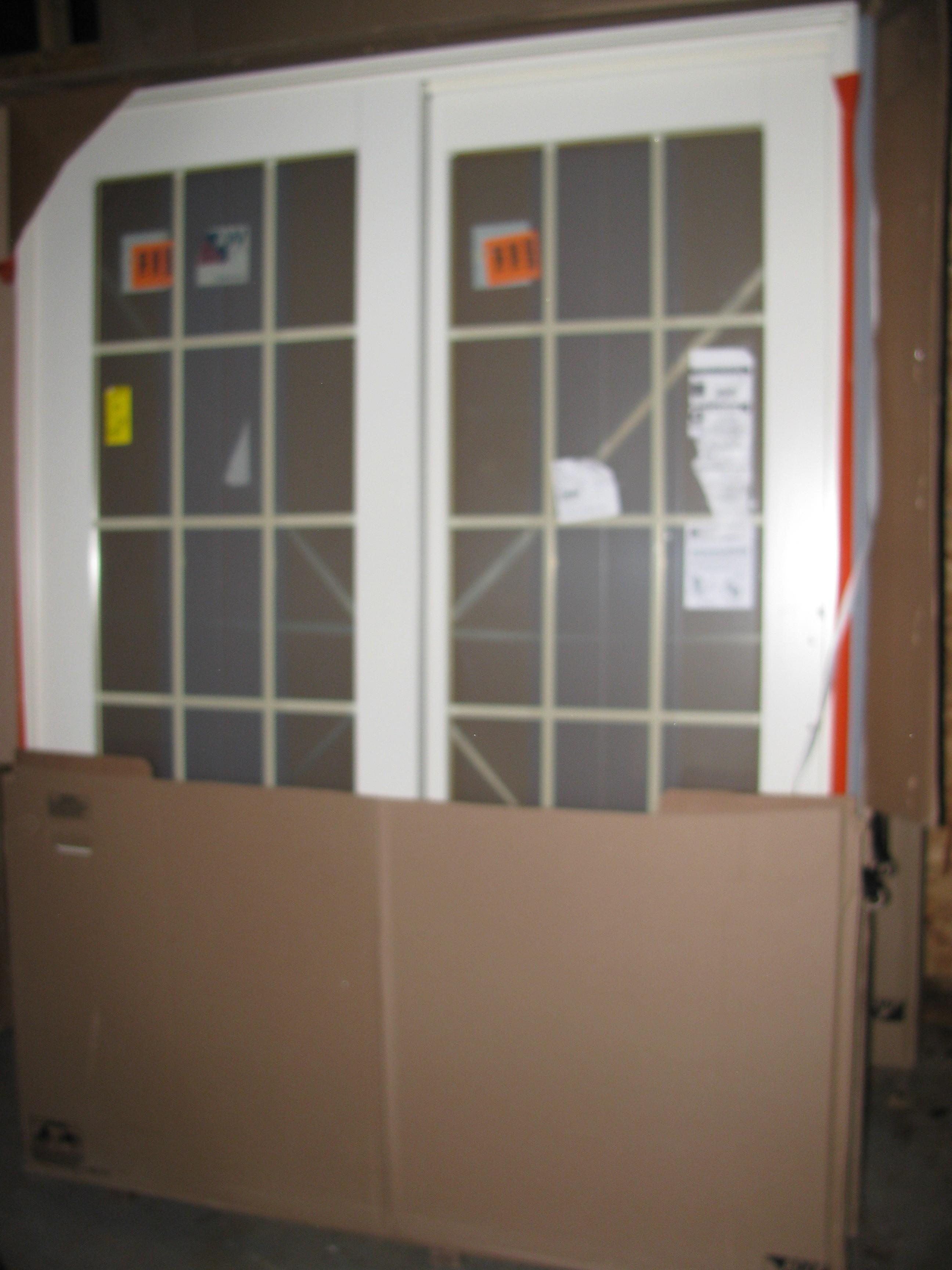 Andersen Sliding Patio Screen Door Parts: 4 NEW ANDERSEN CANVAS SLIDING PATIO DOORS 5FTA SERIES