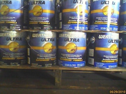 We have thousands of gallons of exterior stain and paint - Paint coverage per gallon exterior ...
