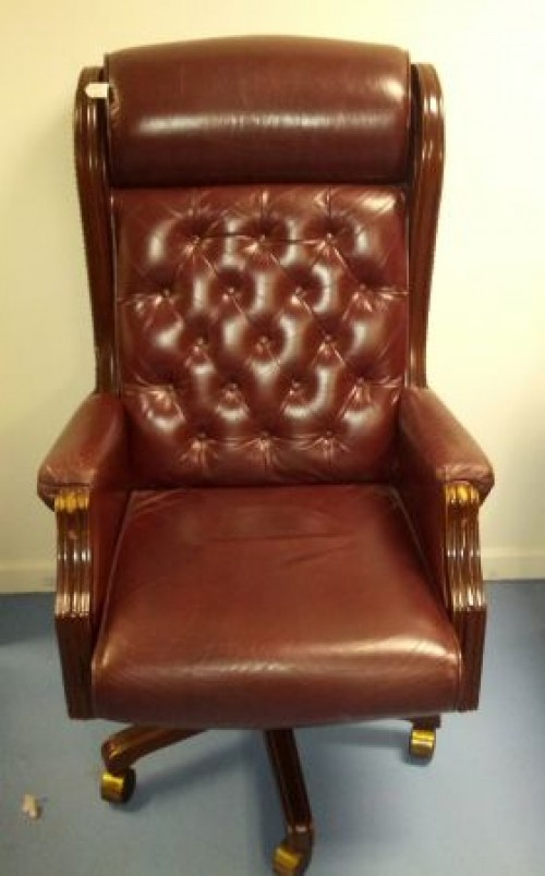 Lazy Boy Presidential Leather Office Chair250S. Toledo)   $250