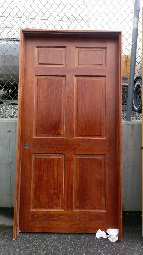 Solid core custom entry door43 diggerslist for Solid core exterior door