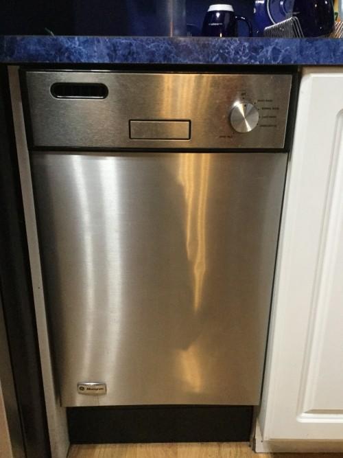 ge half size dishwasher