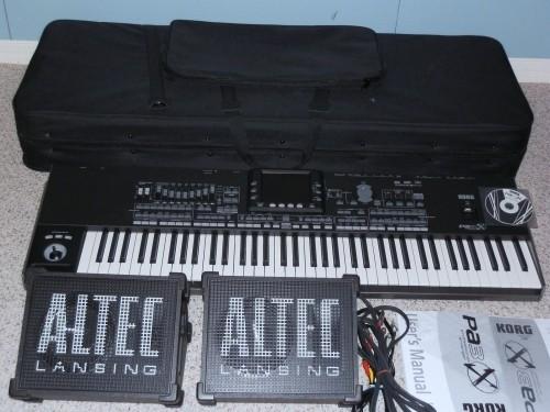 Selling New : Yamaha Tyros 4 keyboard, Korg Pa3X pro