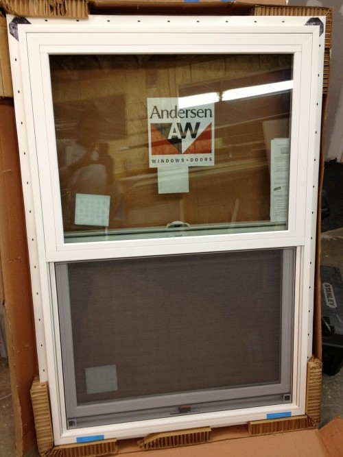Brand new white anderson 100 series windows diggerslist for Brand windows