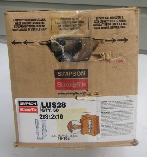 Joist Hanger Lus28 Pack Of 50