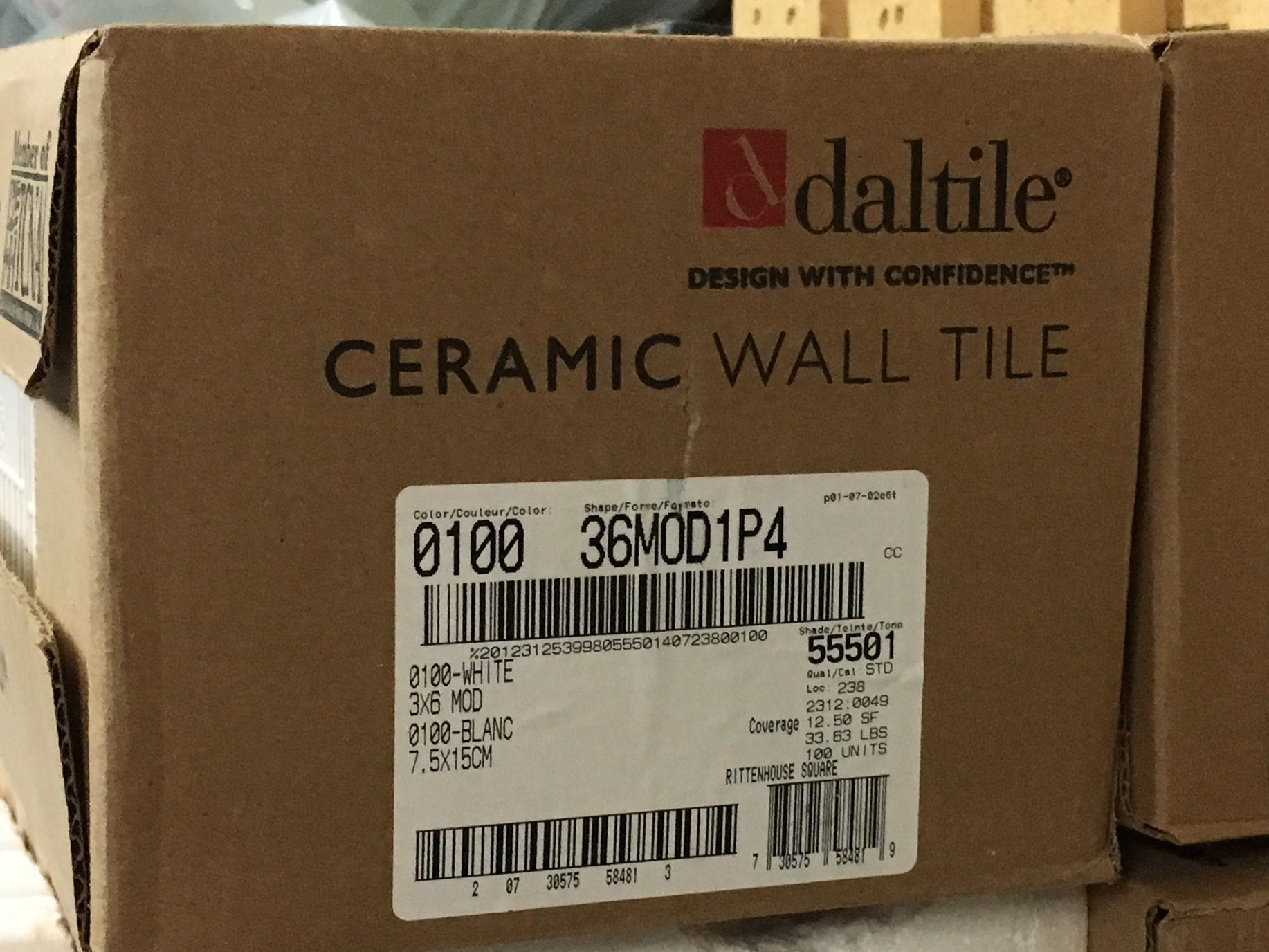 3x6 subway tile daltile period perfect details at any price daltile 3x6 subway tiles white 11 boxes diggerslist details 11 unopened boxes of daltile 3x6 ceramic dailygadgetfo Choice Image