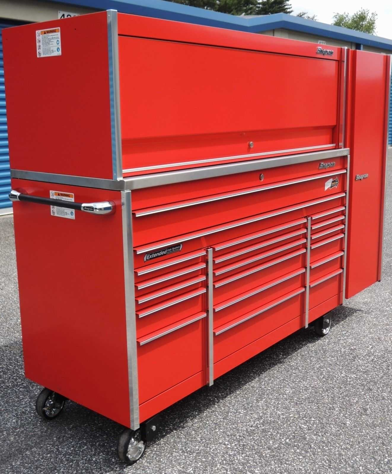 Bank Lockers Los Angeles: Snap On KRL1033 Red Tool Box