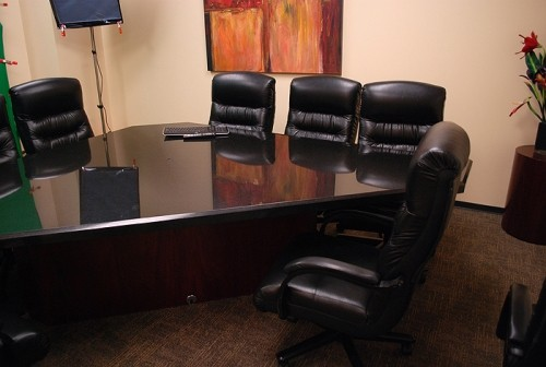 granite triangle shaped conference tablebought for10k must go