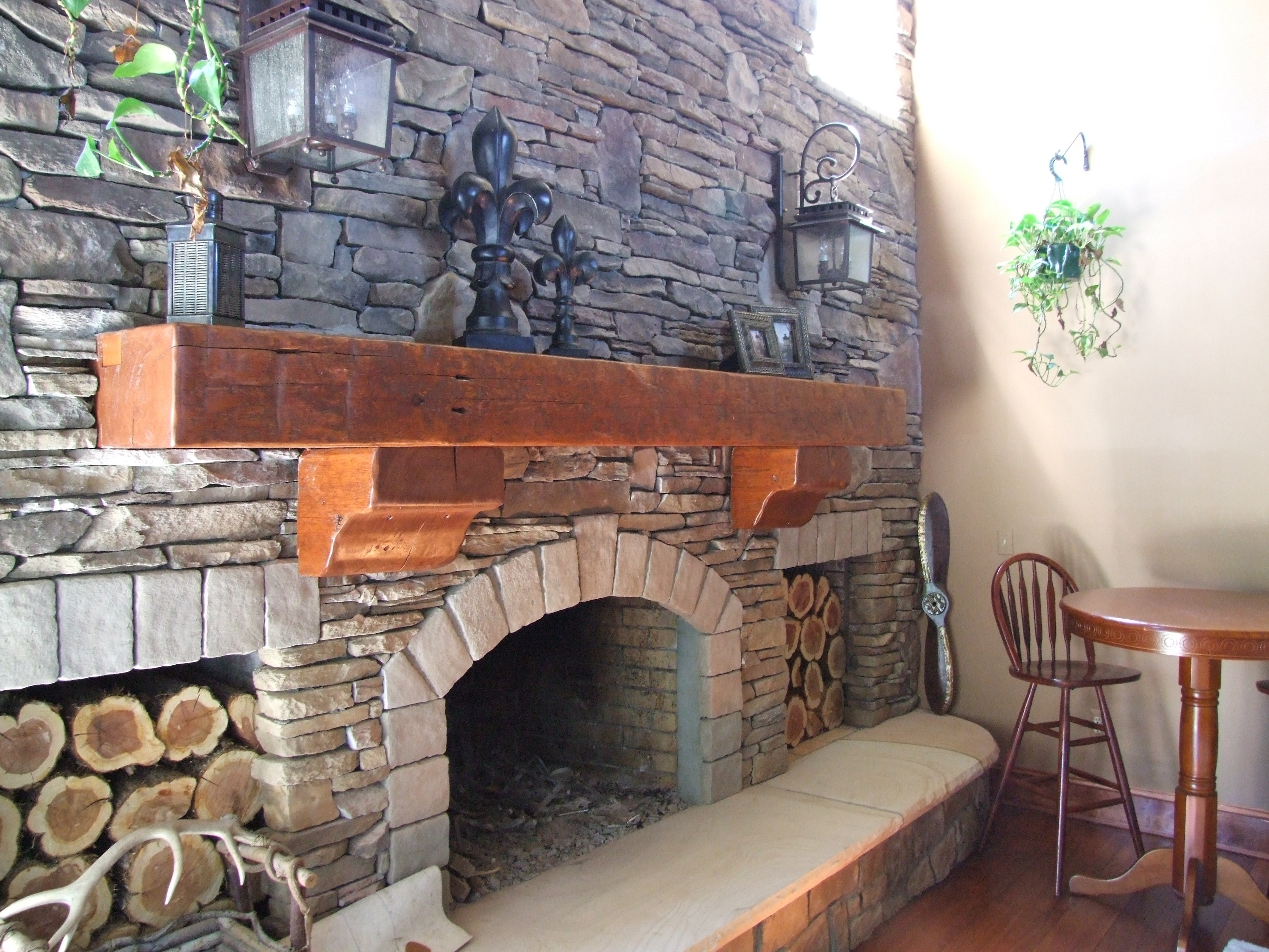 Reclaimed Barn Wood Fireplace Mantels Hollowed Out For Easy Install Barn Beam Mantels Diggerslist